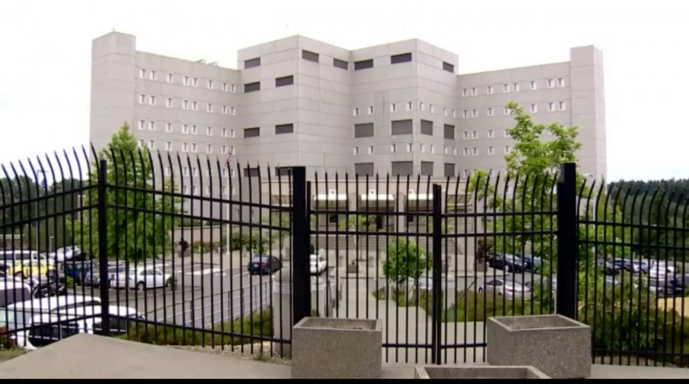 PHOTO: Eric Lin is being held at the Federal Detention Center, SeaTac, pictured here, after repeatedly expressed an affinity for President Donald Trump, who he said he believed wanted to start a Racial War.