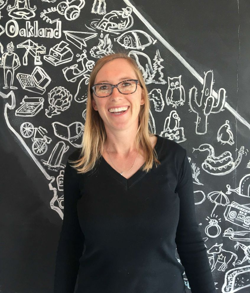 PHOTO: Erin Wade is the co-founder and chief executive of Homeroom, a restaurant in Oakland, California that uses MACS to categorize customer behavior.