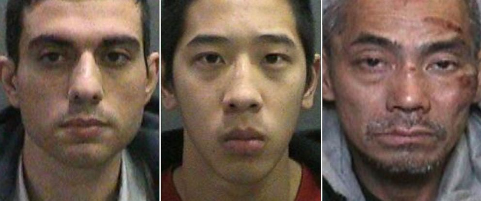 PHOTO: Inmates Nayeri Hossein, Jonathan Tieu and Bac Duong escaped from the Orange County Central Men's Jail in Santa Ana, Calif., Jan. 22, 2016.