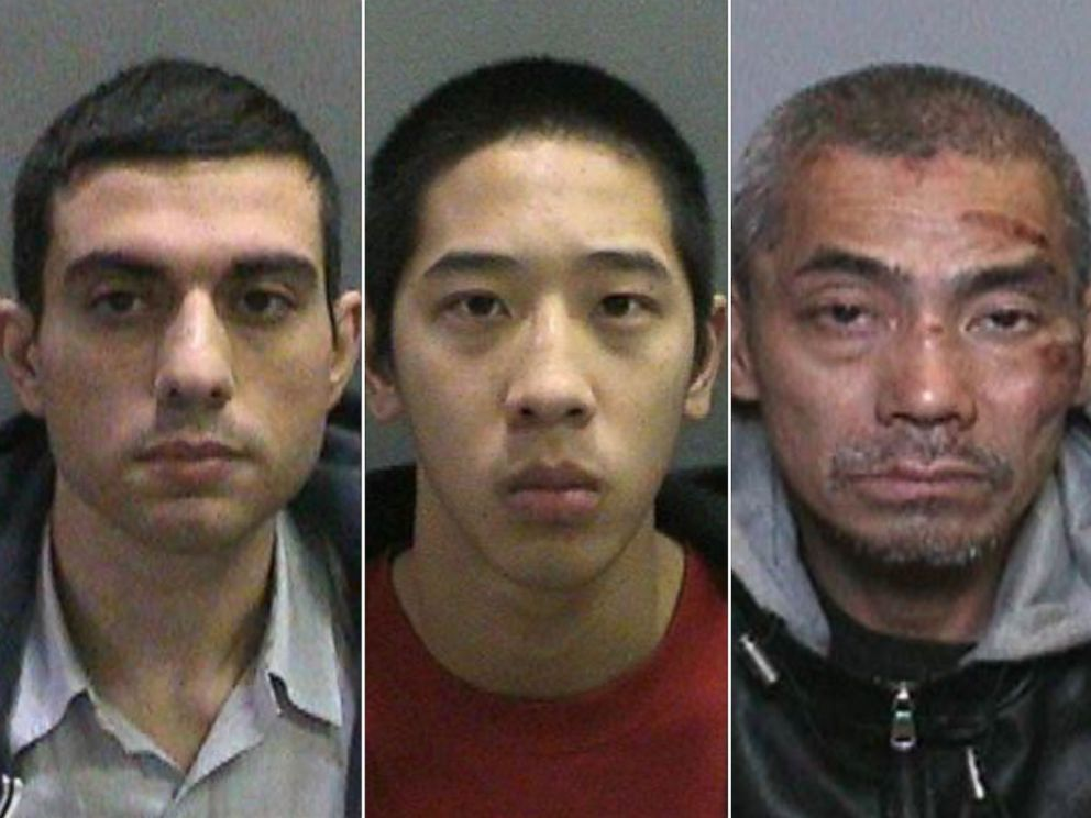PHOTO: Inmates Nayeri Hossein, Jonathan Tieu and Bac Duong escaped from the Orange County Central Mens Jail in Santa Ana, Calif., Jan. 22, 2016.