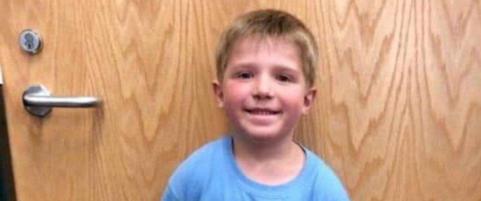 PHOTO: Ethan Haus, 6, was found safe on Oct. 16 after going missing overnight in Palmer Township, Minnesota.