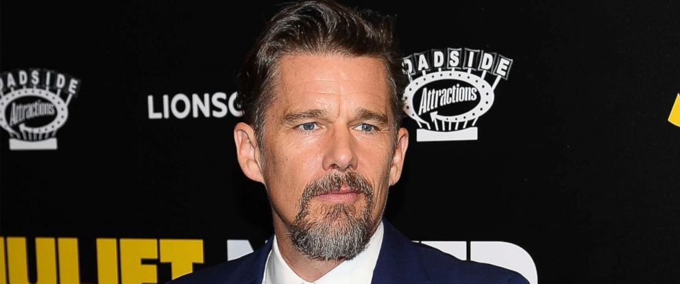 PHOTO: Ethan Hawke attends the Juliet, Naked New York Premiere at Metrograph on Aug. 14, 2018 in New York City.