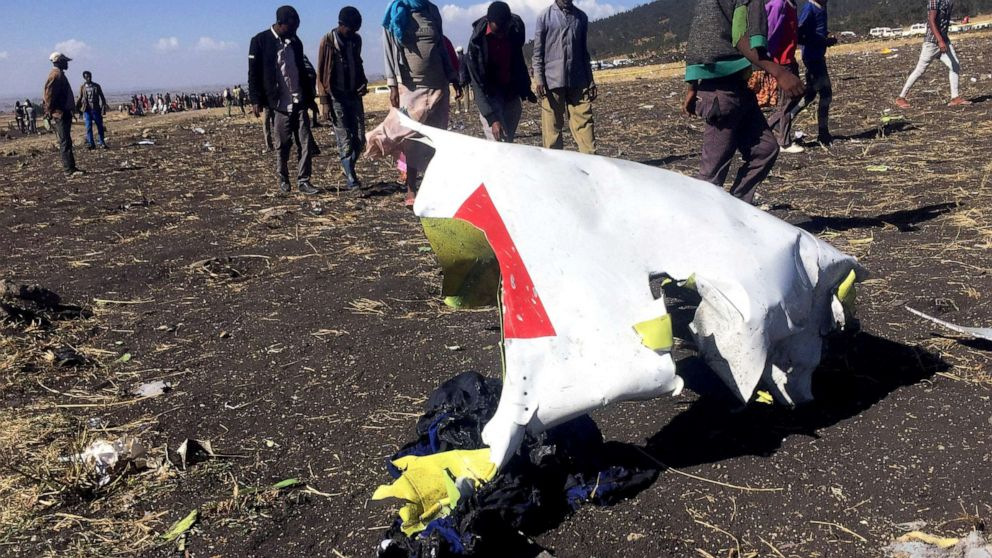 Ethiopian Boeing 737 MAX 8 plane 'black box' data now in international hands thumbnail