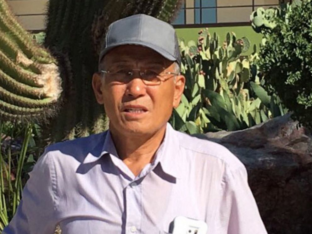 PHOTO: This photo released by the Los Angeles County Sheriffs Department shows 73-year-old hiker Eugene Jo who went missing on June 22, 2019 and was found a week later on June 29, 2019.