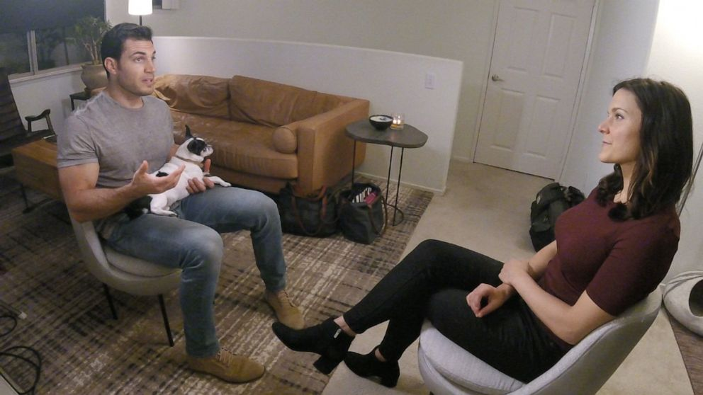PHOTO: Evan Antin speaks with Nightline about his new show on Animal Planet, Evan Goes Wild.