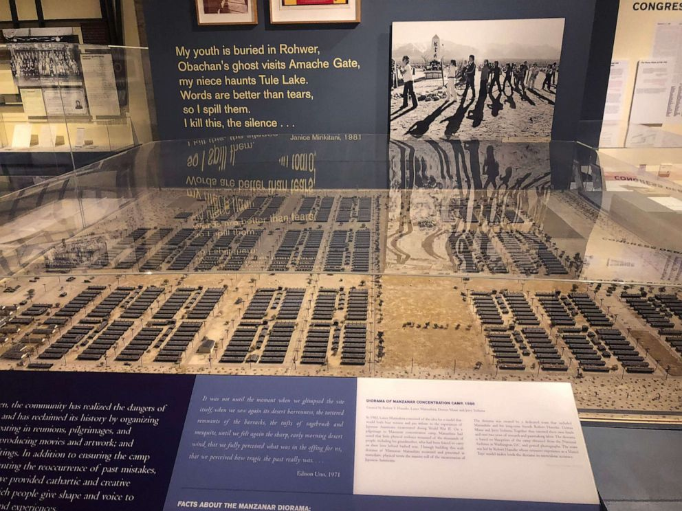 PHOTO: An example of an exhibit at the Japanese American National Museum in downtown Los Angeles.
