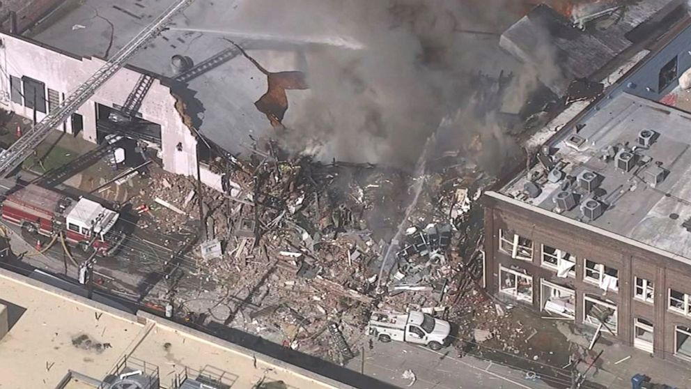 1 dead, 15 injured in North Carolina gas explosion