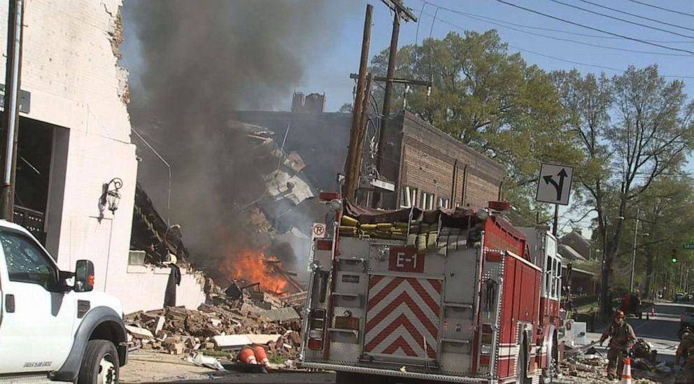 Police say 1 dead, 15 injured in North Carolina gas explosion