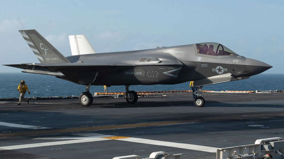 us military grounds entire fleet of f 35s in wake of crash abc news