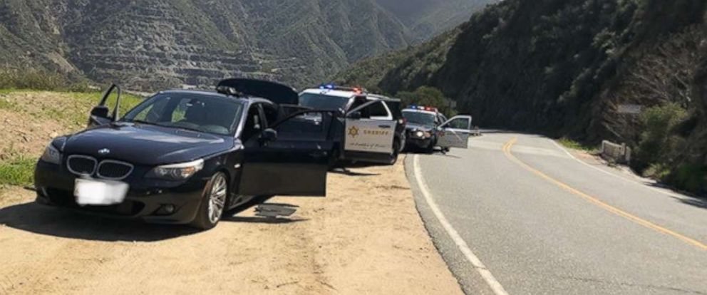 PHOTO: The Los Angeles County Sheriffs Department was called to respond to a kidnapping on Wednesday, March 13, 2019, which turned out to be an unlicensed music video shoot.