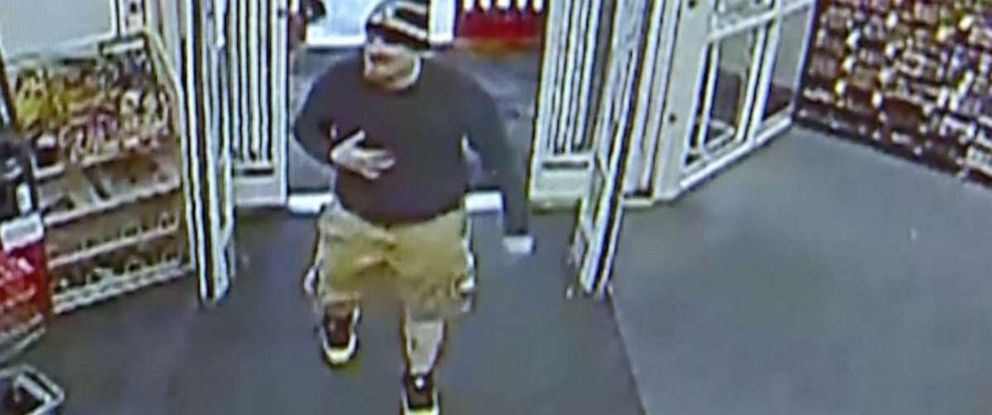 PHOTO: A man is seen on surveillance footage faking a heart attack before a robbery attempt, police said.