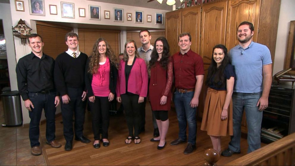 PHOTO: The Lebaron family joined Good Morning America from their home in Utah to discuss their viral rendition of One More Day, April 12, 2018.