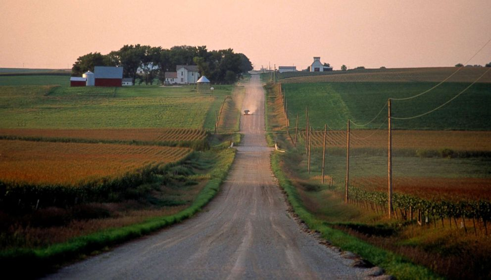 PHOTO: A farm in Iowa is pictured in this undated stock photo.