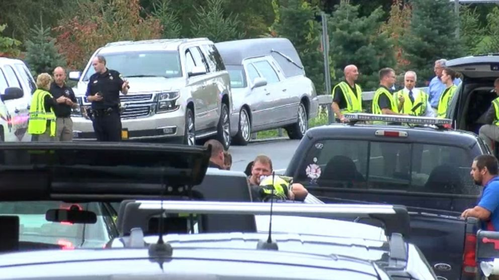 Multiple deaths are reported after a limousine accident in upstate New York near Albany on Oct. 6, 2018.