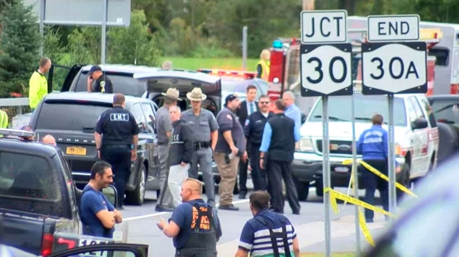 20 people killed in 'horrific' limousine crash in upstate New York