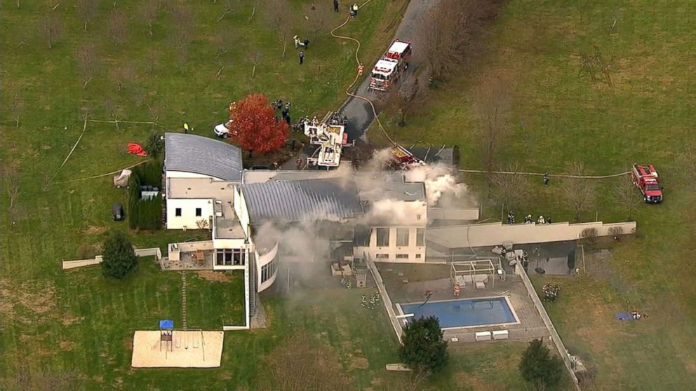 New Jersey shooting: Four dead after fire and gunshots at mansion