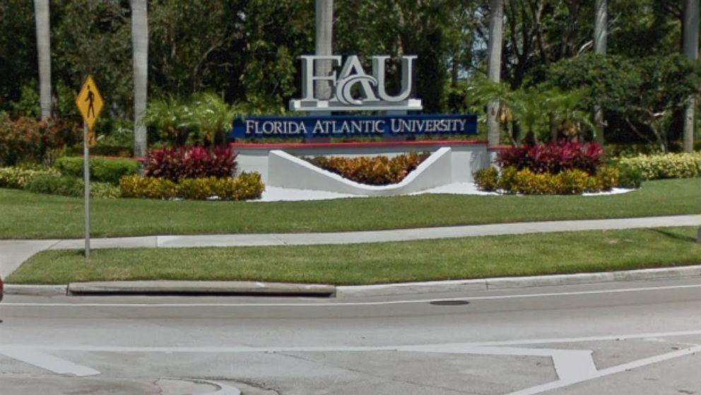 Florida Atlantic University in Boca Raton.