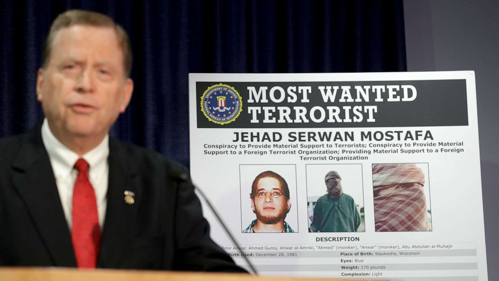FBI renews quest to find US citizen among most wanted terrorists in the world