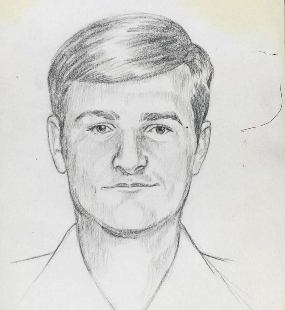 PHOTO: FBI sketch for the Golden State Killer.