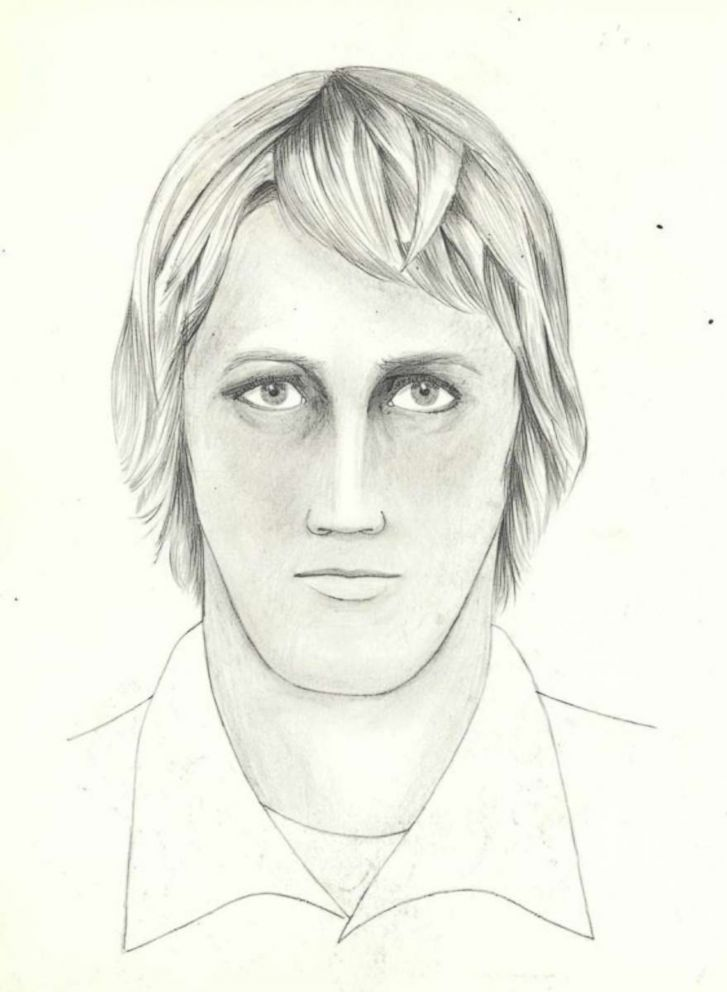 "FBI sketch for the ""Golden State Killer."""