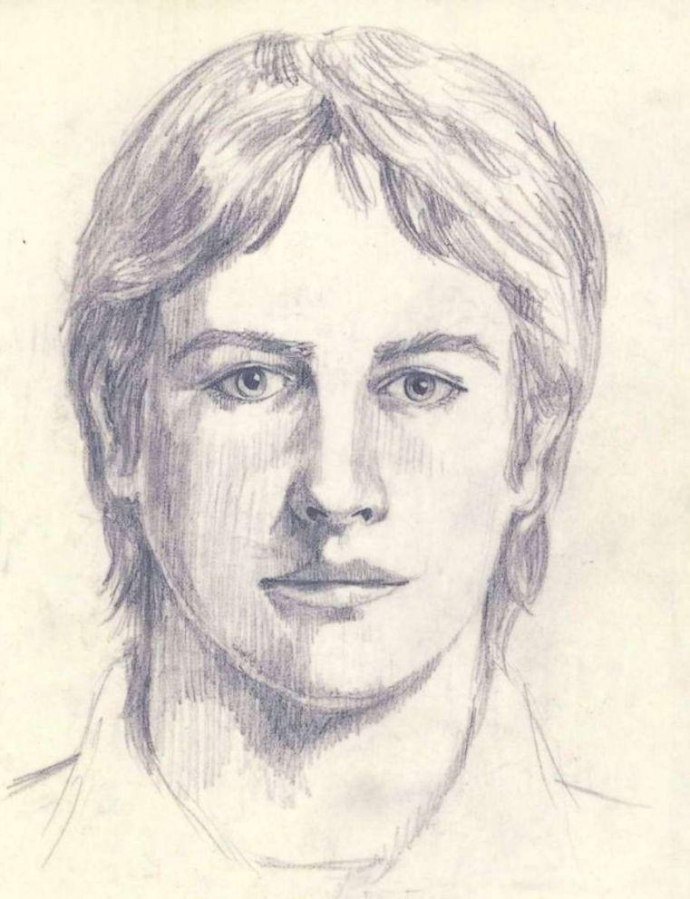 PHOTO: FBI sketch for the Golden State Killer.