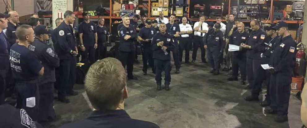 PHOTO: The Urban Search and Rescue New York Task Force 1 team have been deployed to North Carolina in support of Hurricane Florence.