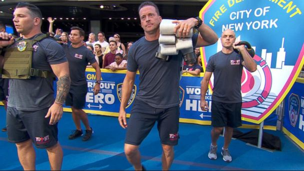 Train like a firefighter with this 20-minute, circuit