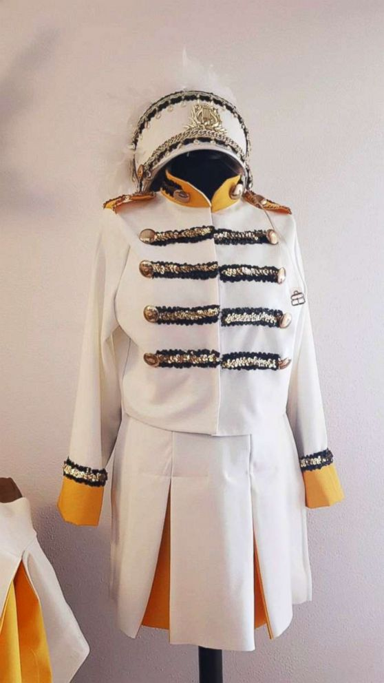 PHOTO: The final product of Lottes Fearless tour costume recreation.