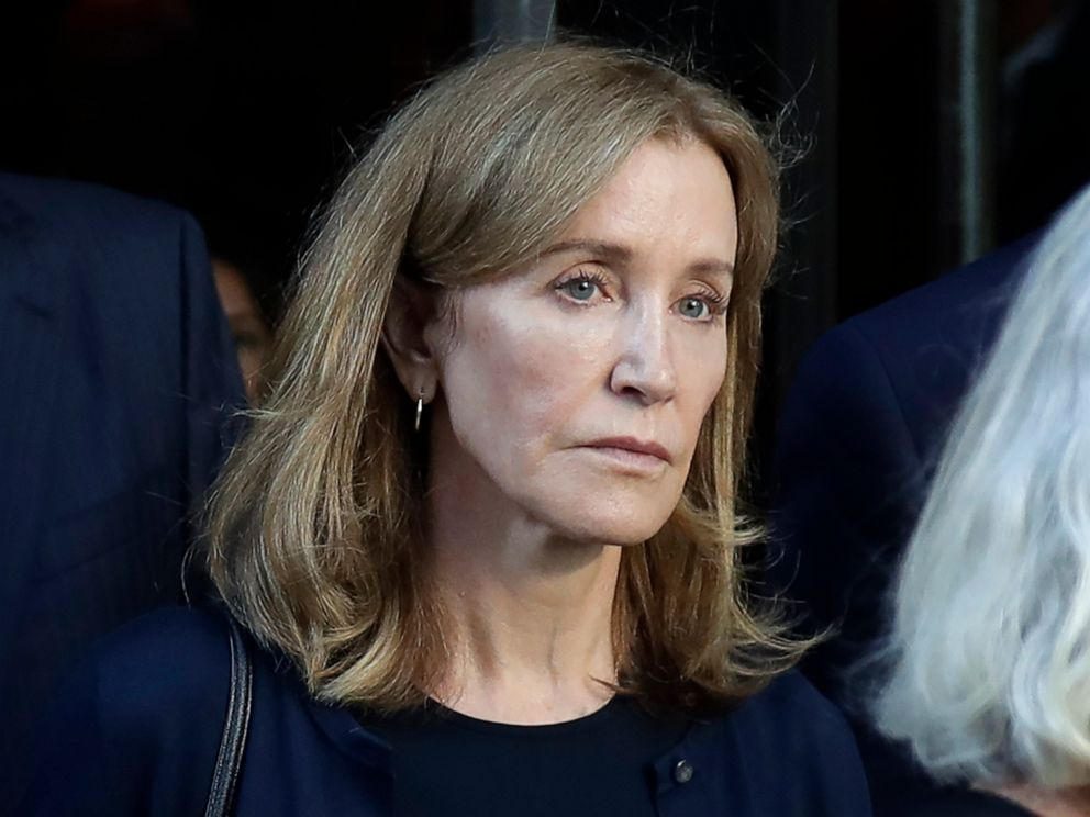 Felicity Huffman released from prison after serving college admissions scam sentence