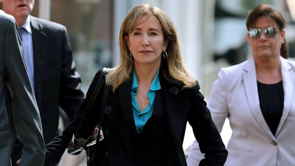 Actress Felicity Huffman among 14 to plead guilty in college admissions cheating scandal