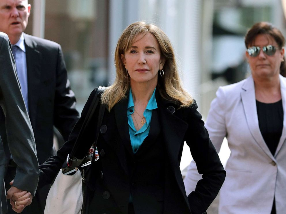 Desperate Housewives star Felicity Huffman pleads guilty in college admissions scandal