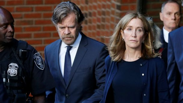 Felicity Huffman sentenced to 14 days in prison for 'Varsity Blues' college scam