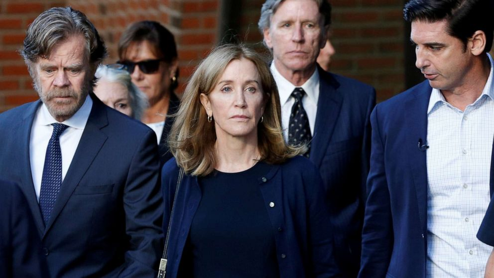 Felicity Huffman released from prison after stint for college ...