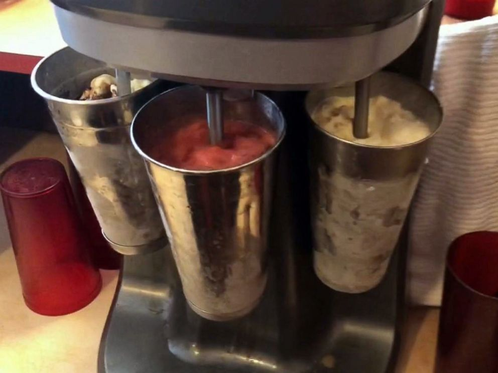 PHOTO: The shakes made at Mickies Dairy Bar share the same special ingredient: Schoeps ice cream, which is produced in Madison and has been around since the 1930s.