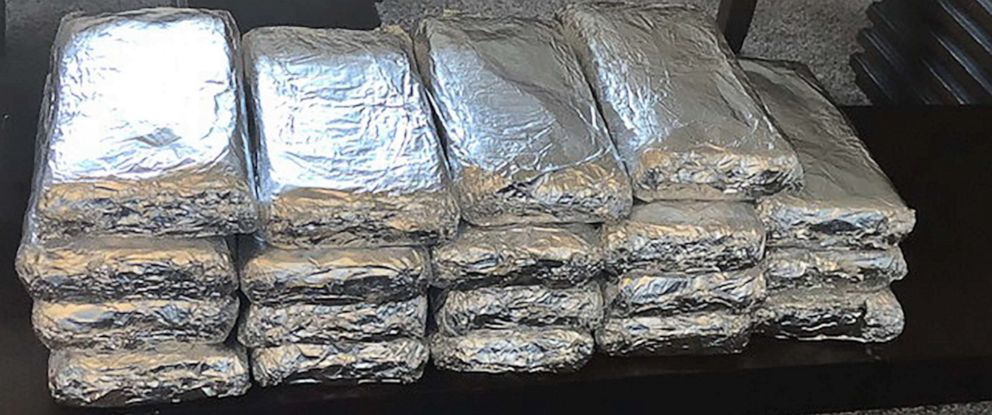 PHOTO: The Montgomery County Sheriffs Office in Dayton, Ohio, released this image with an announcement that over 40 pounds of suspected Fentanyl had been seized during the week of Oct. 21, 2019.