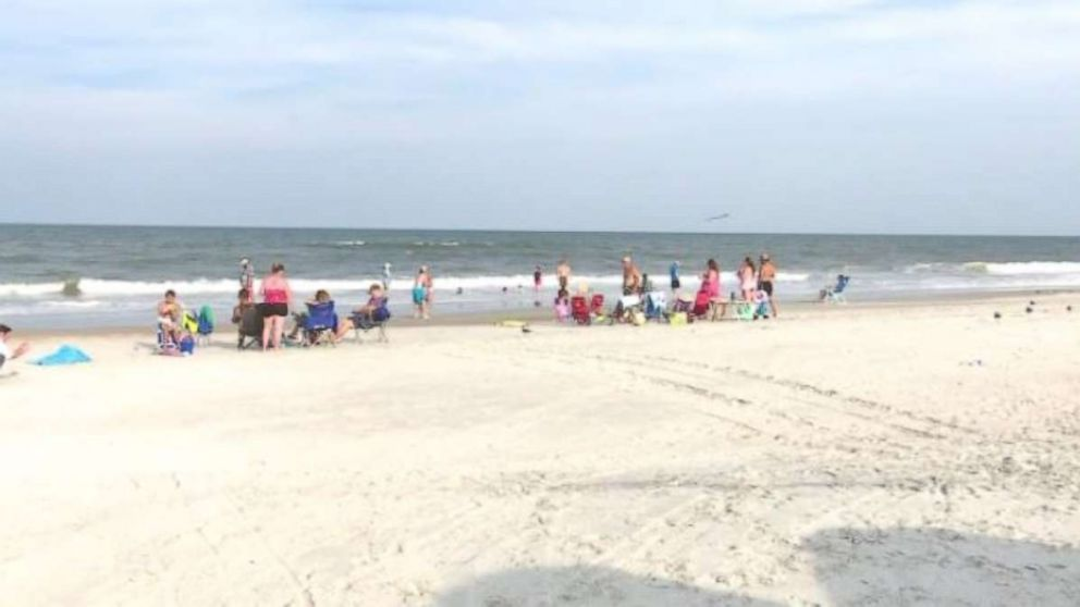 Fernandina Beach in Florida was shut down to swimming after two shark attacks on Friday, July 13, 2018.