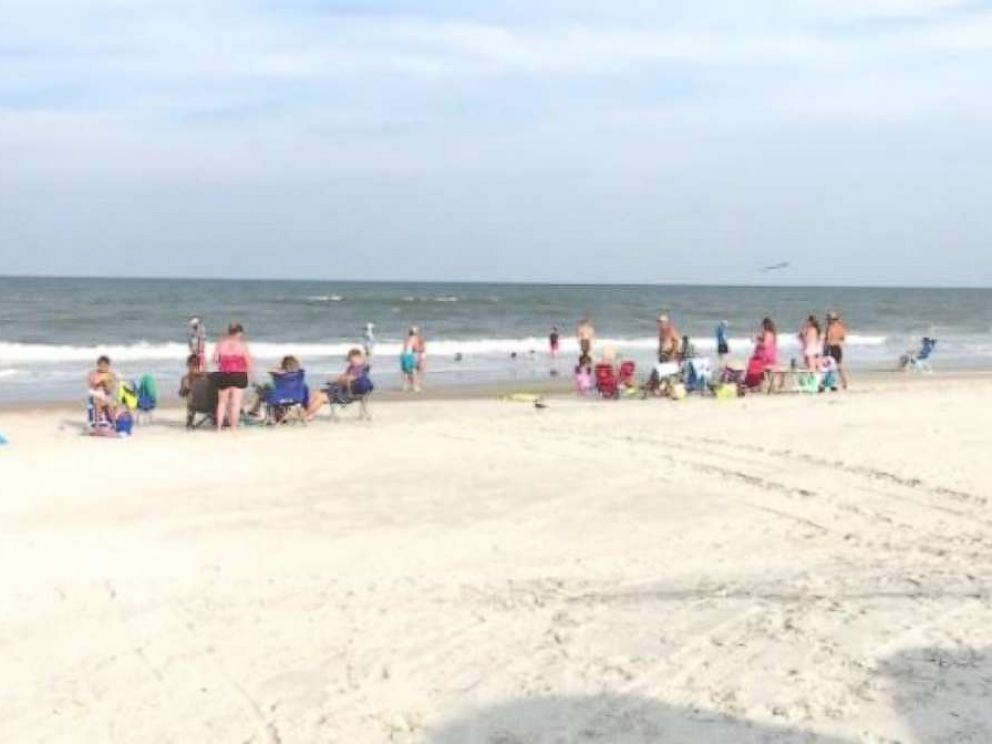 Fernandina Beach in Florida was shut down to swimming after two shark attacks on Friday