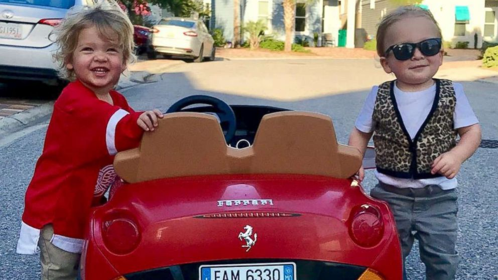 Lauren Willis is dressing her twins as movie characters Ferris Bueller and Cameron  Frye for Halloween d4c664618