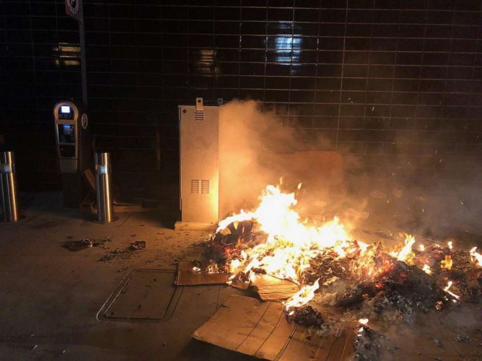 PHOTO: Richard Smallets allegedly set fire to a cardboard box while a homeless man was sleeping in it, Sept. 12, 2019, in Glendale, Calif.