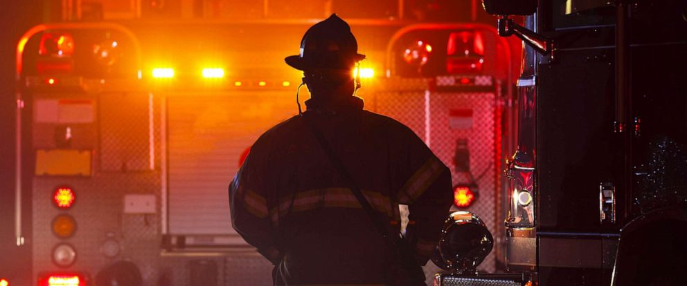 PHOTO: Firefighter , first responders in stock photo.