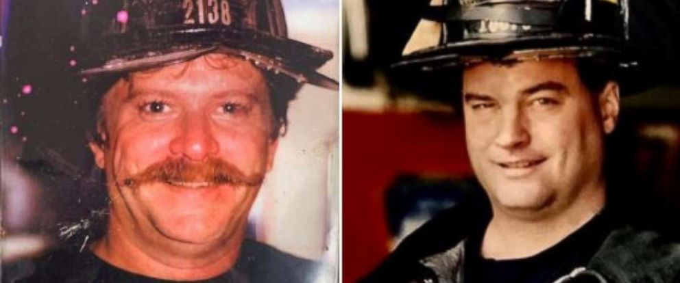 PHOTO: Firefighters Richard Driscoll and Kevin Nolan are show in these photos from FDNY.