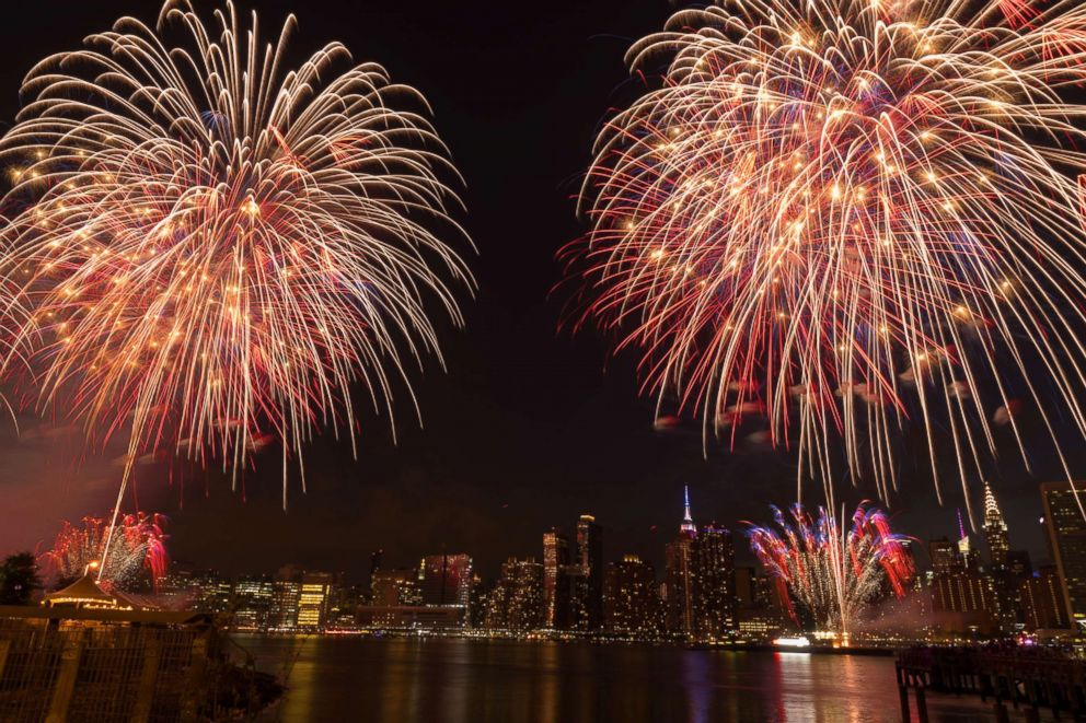 PHOTO: Macys 4th of July Fireworks on July 4, 2017 in New York.