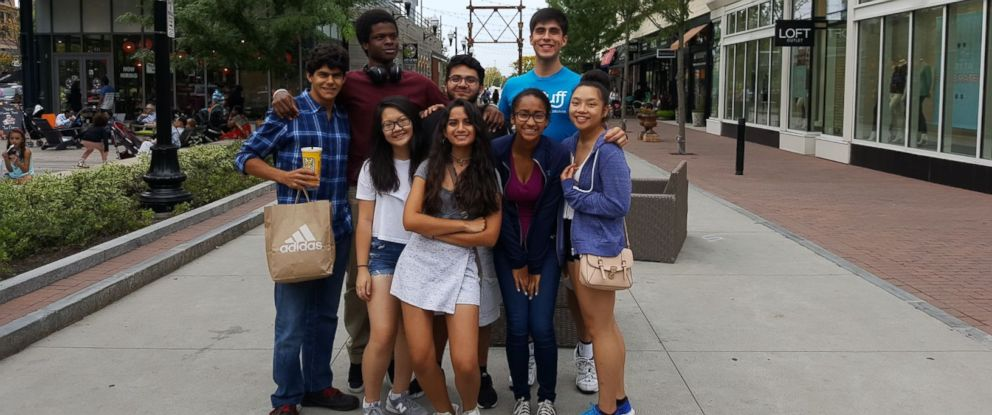 PHOTO: Jared Jaramillo and other first-generation college students at Tufts University are photographed here.