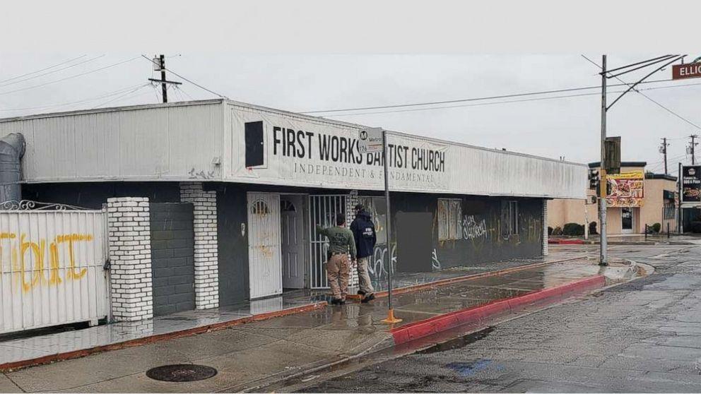 abcnews.go.com: FBI investigating explosion, graffiti at California church known for anti-LGBT views