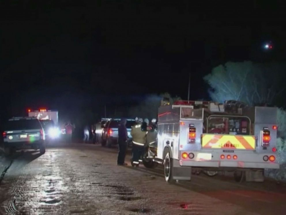 PHOTO: Multiple agencies are searching for three children reported missing after a vehicle they were in became swept away by flooding in the Tonto Basin area.