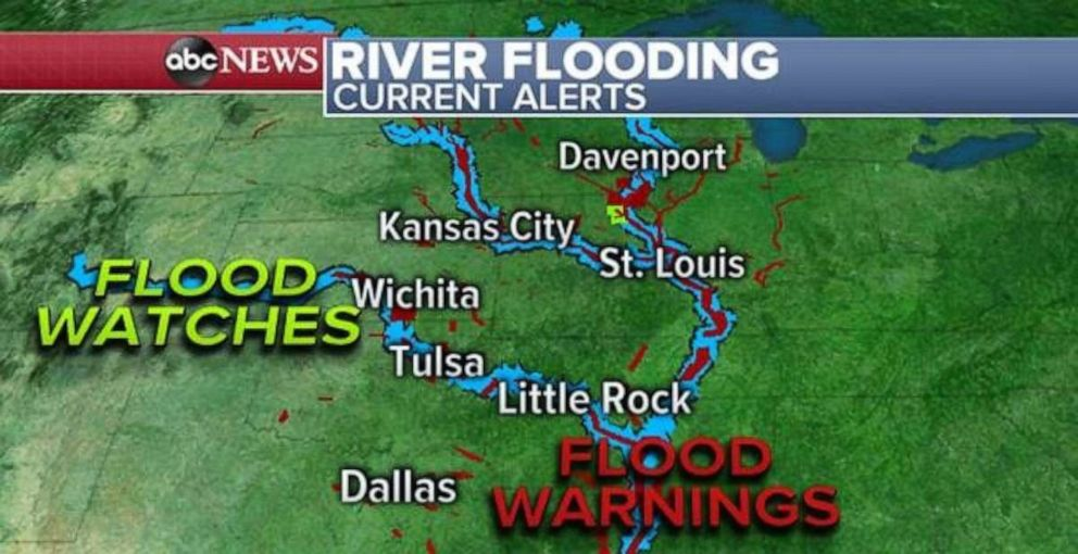 PHOTO: River flooding is still a serious concern along the Arkansas River.