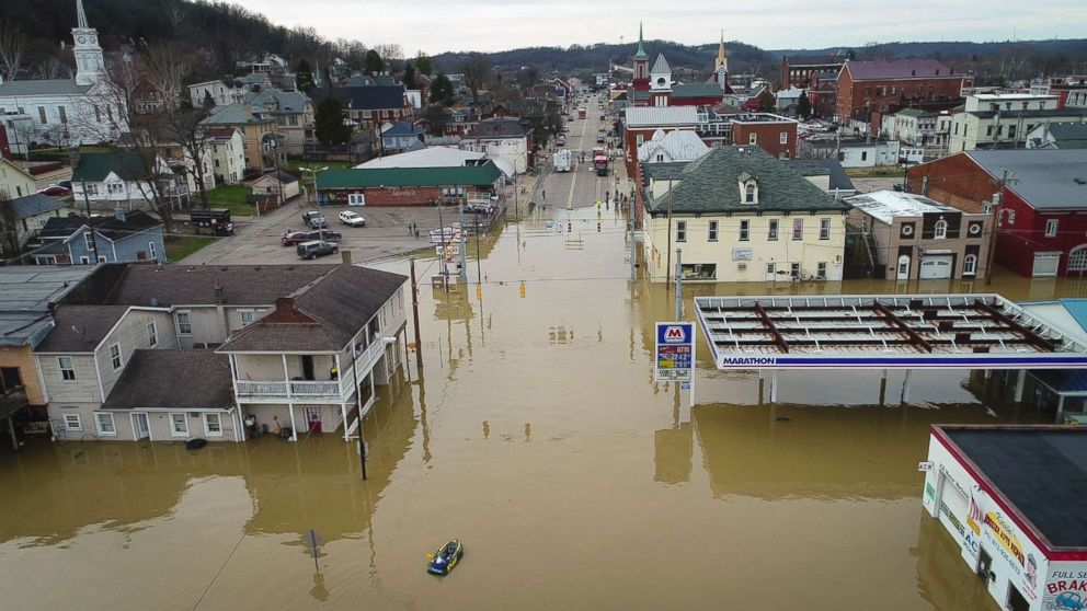Record rainfall causes major flooding across Midwest, South