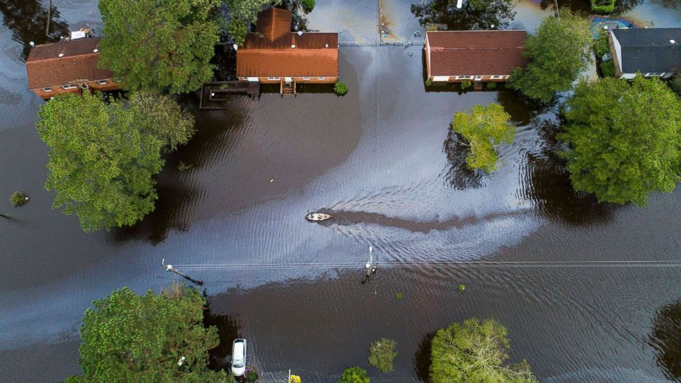 New Burn Nc >> Flooding Damage From Florence In New Bern Nc