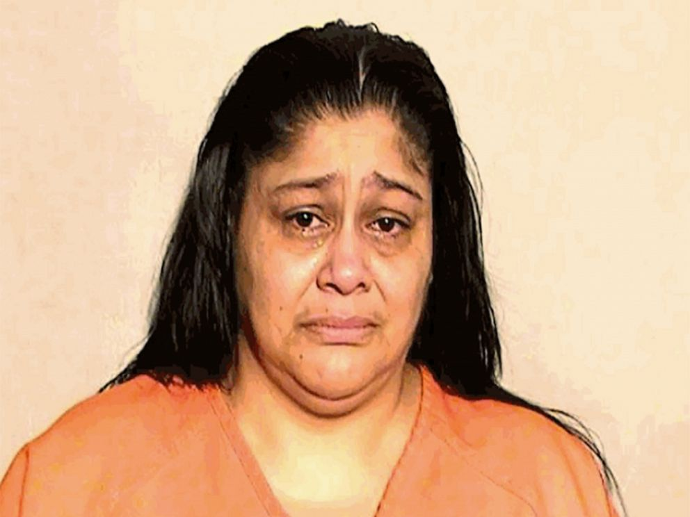PHOTO: Yisenya Flores in a police booking photo.