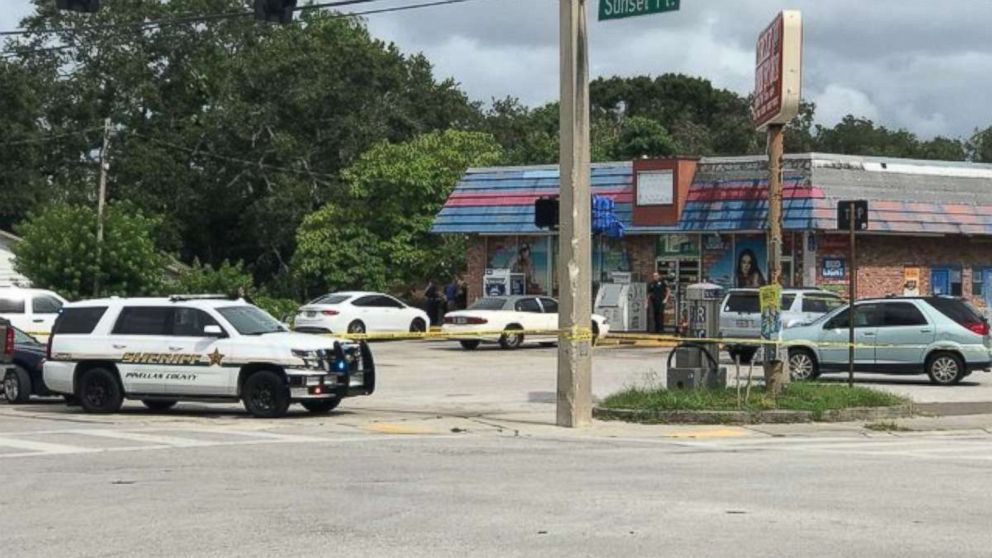 Michael Drejka shot and killed 28-year-old Markeis McGlockton in a convenience store parking lot in Clearwater, Fla., on Thursday, July 19, 2018.